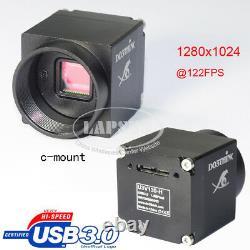 Mini Usb 3.0 Haute Vitesse 122fps C-mount Industriel Appareil Photo Numérique Microscope