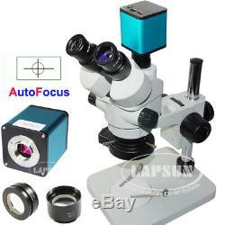 Mise Au Point Automatique Hdmi Sony IMX Appareil Photo Numérique Simul-focale Stéréomicroscope Trinoculaire