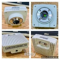 Nikon Digital Sight Ds-l3 Touch Screen Monitor + Nikon Ds-fi2 Microscope Caméra