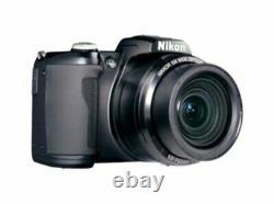 Nikon L105 12.1mp Appareil Photo Numérique Avec 15x Optical Zoom Black (microscope Filming)
