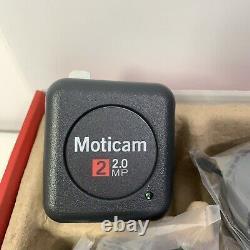 Nouveau Moticam 2 Cmos 2.0mp Appareil Photo Numérique Couleur