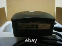 Nouvelle Boîte Ouverte Amscope Mu900 Mu 900 Microscope Appareil Photo Numérique