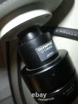 Olympus Dp12 Microscope Appareil Photo Numérique Avec Système Contrôleur