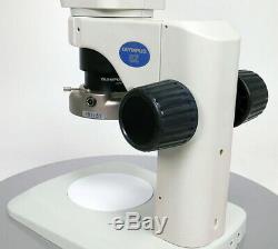 Olympus Szx7 Zoom Stéréo Microscope 8x 56x Du Japon