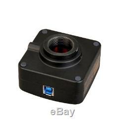 Omax 18.0mp Usb3.0 Microscope Appareil Photo Numérique Avec Diapositives Et Logiciel D'étalonnage