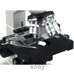 Omax 2500x Microscope Numérique 5mp Caméra+kit De Préparation De Diapositives+book+blank Slides