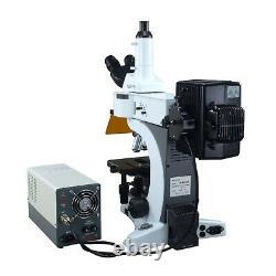 Omax 40x-1000x Infinity Epi-fluorescent Microscope Avec 1.4mp Appareil Photo Numérique CCD