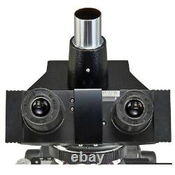 Omax 40x-1600x Phase Contraste Trinocular Compound Microscope+2mp Appareil Photo Numérique