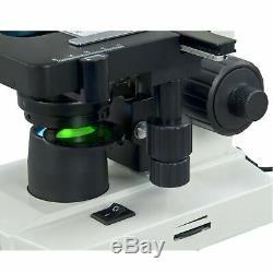 Omax 40x-2000x Composé Binocular Microscope Avec 1.3mp Appareil Photo Numérique