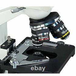 Omax 40x-2500x Caméra Numérique Intégrée 1.3mp Microscope À Led Composé De Jumelles