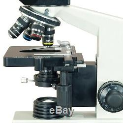 Omax 40x-2500x Darkfield Biologique Microscope Trinoculaire + 5mp Appareil Photo Numérique