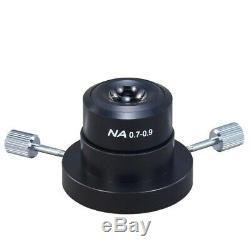 Omax 40x-2500x Darkfield Microscope Trinoculaire Led Biologique + 5mp Appareil Photo Numérique