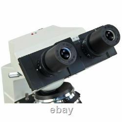 Omax 40x-2500x Intégré 1.3mp Digital Camera Led Binocular Compound Microscope
