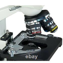Omax 40x-2500x Intégré 1.3mp Digital Camera Led Binocular Compound Microscope W