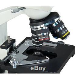 Omax 40x-2500x Intégré 1.3mp Led Appareil Photo Numérique Binocular Microscope Composé