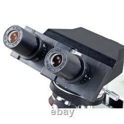 Omax 40x-2500x Intégré 3mp Appareil Photo Numérique Dry Darkfield Compound Led Microscope