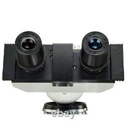 Omax 40x-2500x Led Digital Lab Binocular Compound Microscope Avec Caméra Usb