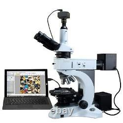 Omax 50x-1000x 14mp Digital Camera Infinity Polarisant Microscope Métallurgique