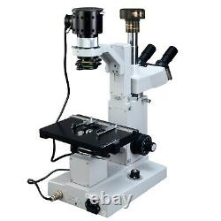 Omax 50x-1000x Microscope Biologique Trinoculaire Inversé Numérique 9mp