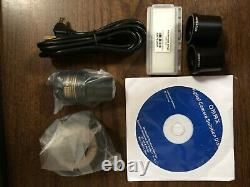 Omax 9.0mp Microscope Usb Appareil Photo Numérique Avec Le Logiciel, A3590u, 9mp