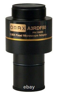 Omax 9 Mp Digital Usb Microscope Camera + Logiciel, Étalonnage Micromètre De Scène
