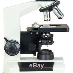 Omax Contraste De Phase Led Microscope Trinoculaire Biologique + 9mp Appareil Photo Numérique