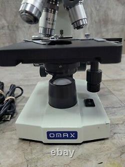 Omax Microscope 40x-2000x Avec640x480 Caméra Numérique Usb