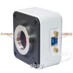 Panorama Usb 3.0 High Speed 6mp C-mount Caméra De Microscope Industriel Sony Imx178