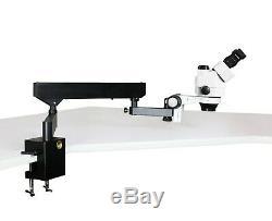 Parco 3.5x-90x Simul-focal Trinocular Zoom Stéréomicroscope, 3mp Appareil Photo Numérique