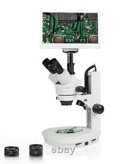 Parco Scientific Xmzz-746-11l-ret11.6 Zoom Stereo Microscope Avec Appareil Photo Numérique