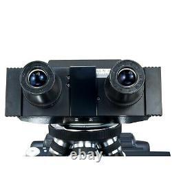 Phase Contrast Binocular Compound Medical Research Microscope+2mp Appareil Photo Numérique