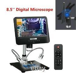 Portable 8.5 LCD 1080p Microscope Numérique 12mp 50x-1300x Caméra 2000mah +remote