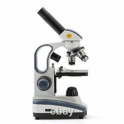 Swift 40x-1000x Étudiants Biologie Microscope Composé Avec Appareil Photo Numérique 1.3mp