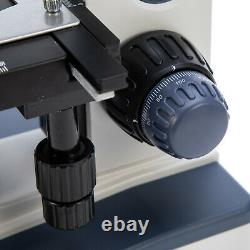 Swift 40x-2500x Led Lab Vet Trinocular Compound Light Microscope Caméra Numérique