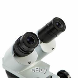 Swift Optique Binoculaire Stéréo Microscope 20x / 40x / 80x Avec Appareil Photo Numérique 2 Mégapixels