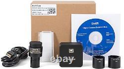 Swift Sc500, Appareil Photo Numérique De 5 Mégapixels Pour Microscopes, Avec Objectif De Réduction
