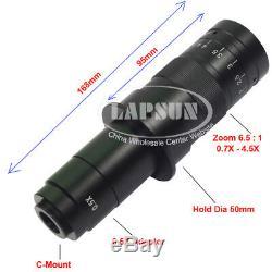 Téléphone Réparation 14mp Hdmi Usb 1080p Industrial Microscope Zoom Appareil Photo Numérique Objectif