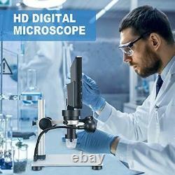 Ttlife Digital Microscope 7'' Écran Hd 12mp 1200x Caméra 8 Lumière Led