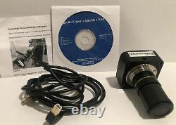 Variscope 5.1 Mp Astronomy Usb 2.0 / Microscope Appareil Photo Numérique Et Logiciel
