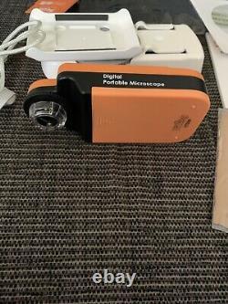 Vitiny Vt-300 Microscope Numérique Portable À Écran LCD 10x 200x Avec Écran LCD 3.5