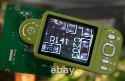 Vitiny Vt-300 Portable LCD Digital Microscope 10x 200x Avec Écran LCD 3.5